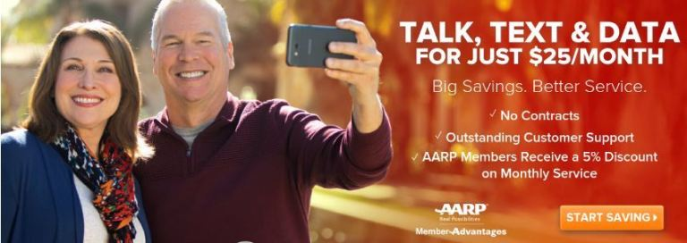 aarp cell phone plans 2019