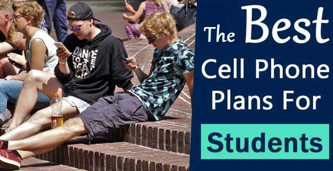 best cell phone plans for college students 2020