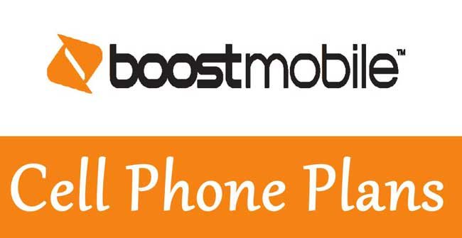 boost mobile cell phone plans