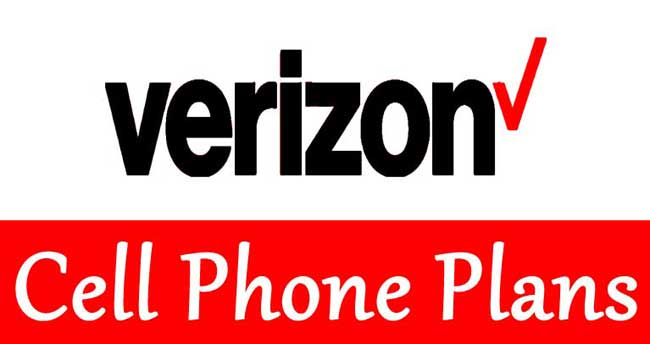 verizon cell phone plans