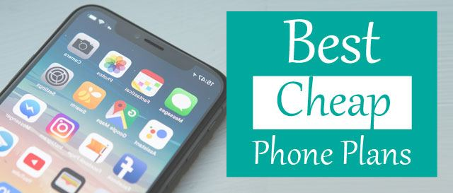 best cheap cell phone plans