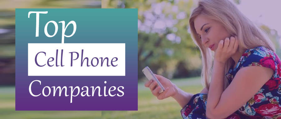 top cell phone companies
