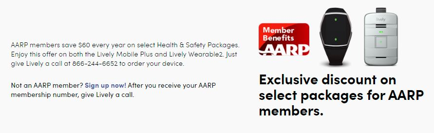 lively aarp discounts